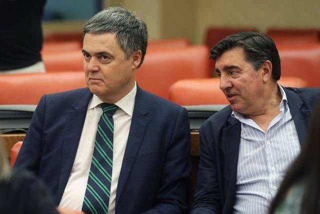 Carlos Rojas y José Antonio Bermúdez de Castro, diputados del PP