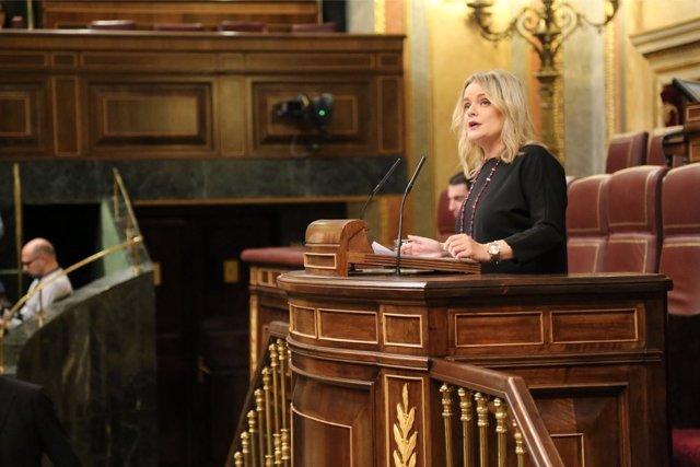 Marimar Blanco, diputada del PP