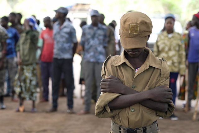 Niño soldado en Sudán del Sur