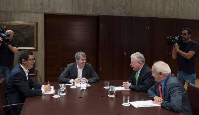 """Clavijo dice que el acuerdo sobre el descuento del 75% demuestra que con """"voluntad"""" se defiende el interés general"""