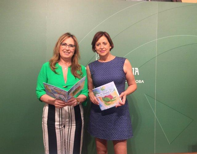 Luna (izda.) y Díaz presentan 'Vacacionantes'