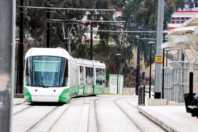 Tranvía que Alstom suministrará a Argelia