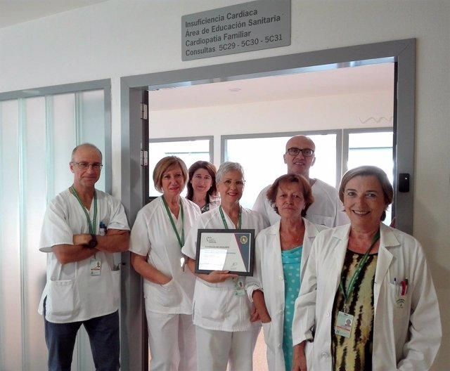 Equipo de la Unidad de Insuficiencia Cardíaca del Hospital San Cecilio
