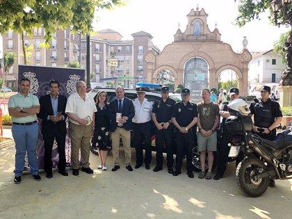 La Policía Nacional desarrolla en Antequera una campaña de prevención sobre Turismo