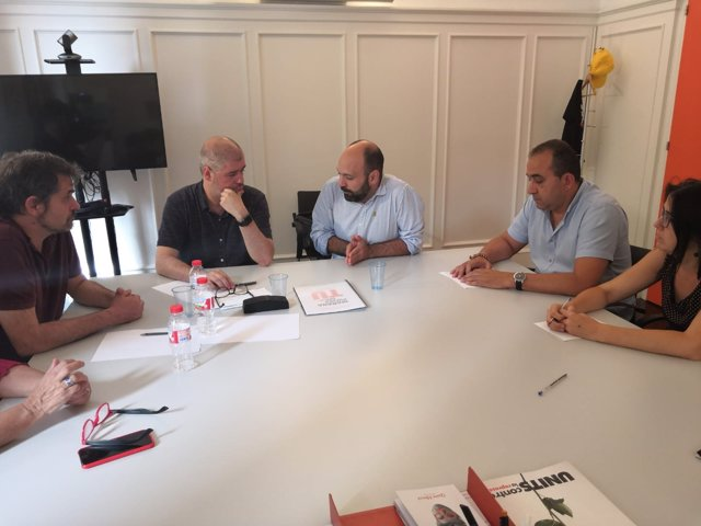 Unai Sordo, Marcel Mauri y Javier Pacheco