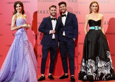 Foto: Carolina Herrera, la firma preferida por los famosos para la fiesta 30 aniversario de Vogue (JOSEFINA BLANCO Y JAVIER RAMIREZ)