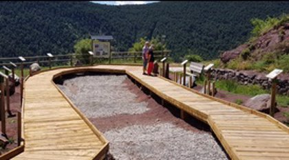 Rubió (Lleida) acoge un museo al aire libre para divulgar el patrimonio geológico