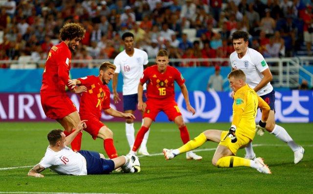 Bélgica Inglaterra Mundial