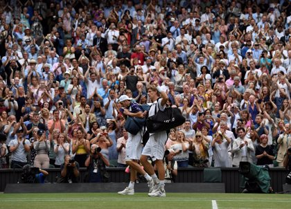 Anderson se queda la semifinal más larga de Wimbledon ante Isner