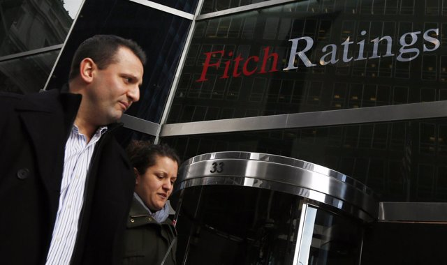 Sede de la agencia de calificación crediticia Fitch Ratings en Nueva York