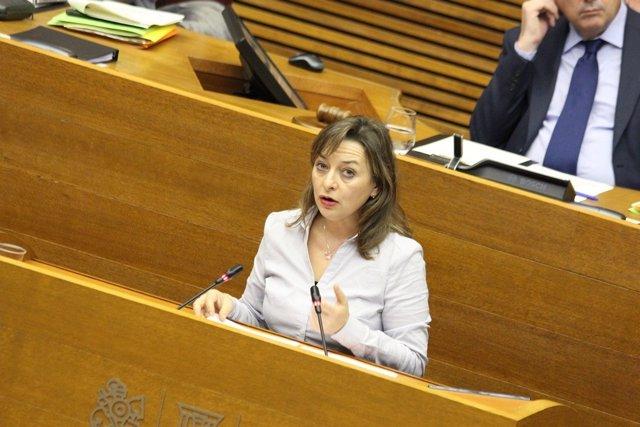 La diputada de Ciudadanos Mª José García