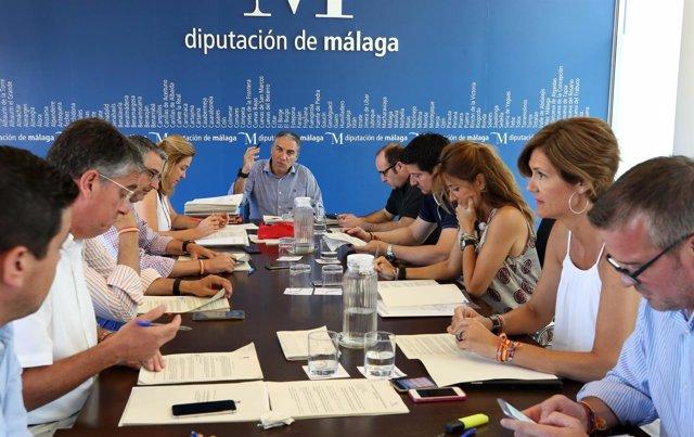 Junta de gobierno Diputación julio
