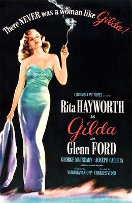Cartel de la película 'Gilda'