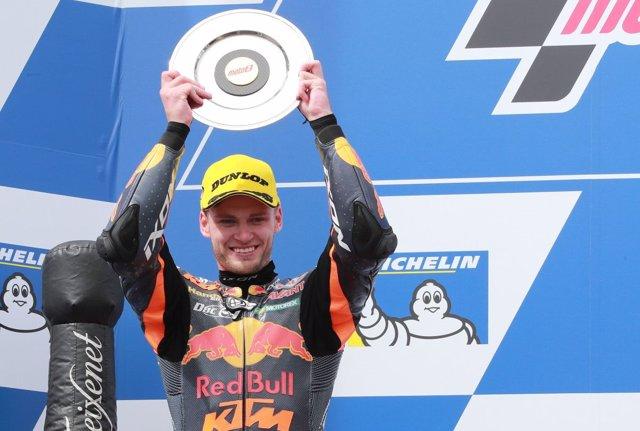 El piloto sudafricano Brad Binder (Red Bull KTM Ajo)