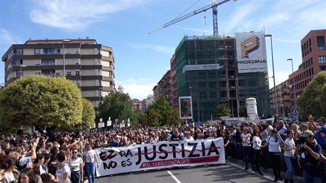 Manifestación Pamplona