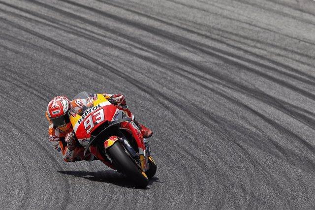 Marc Márquez en el GP de Italia