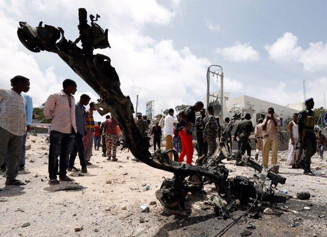 Atentado en Mogadiscio 14 de julio de 2018