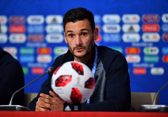 Soccer Football - World Cup - France Press Conference - Saint Petersburg Stadium