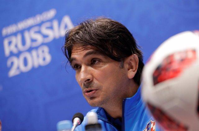 El seleccionador croata, Zlatko Dalic
