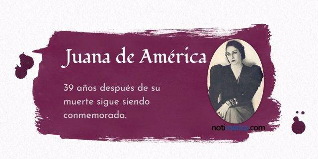 Juana de América