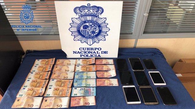 Móviles robados en San Fermín