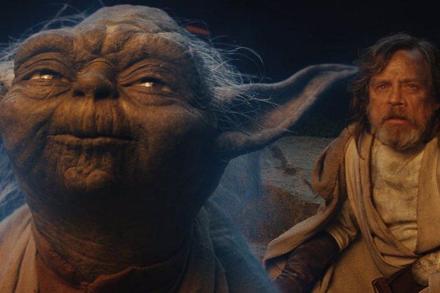 Yoda y Luke Skywalker