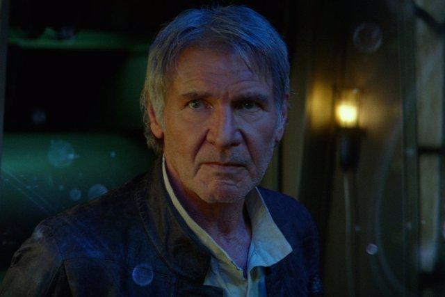 Han Solo en El despertar de la fuerza