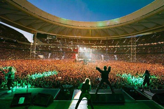 Iron Maiden en el Wanda Metropolitano