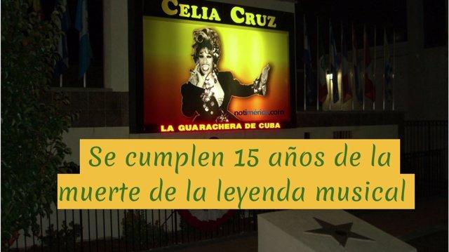 15 Años De La Muerte De Celia Cruz