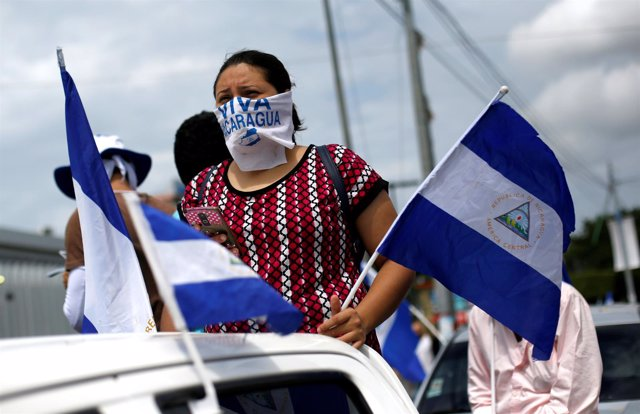 Manifestaciones contra el presidente de Nicaragua, Daniel Ortega