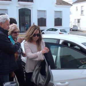 María José Campanario, la gran ausente en la corrida de su cuñado Víctor Janeiro