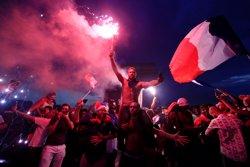La celebració de la victòria francesa al Mundial acaba amb disturbis al centre de París (REUTERS)