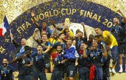 França es proclama campiona del món per segona vegada després de guanyar (4-2) a Croàcia (REUTERS)