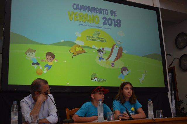 Campamento de Verano 2018 de la Sociedad Española de Reumatología