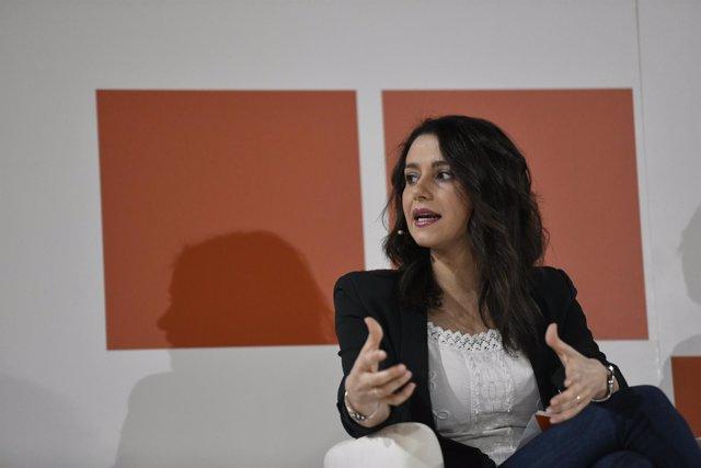 Inés Arrimadas interviene en la Escuela de Verano de Ciudadanos