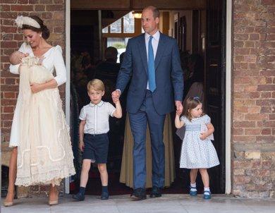Las fotos oficiales del bautizo del Príncipe Louis