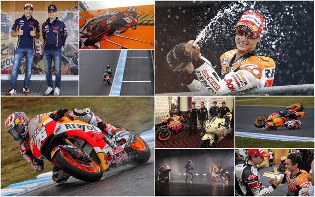 Repaso en imágenes a la carrera de Dani Pedrosa