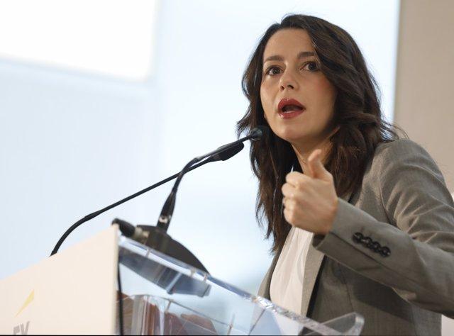 Inés Arrimadas interviene en El Ágora de elEconomista