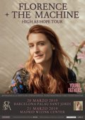 FLORENCE + THE MACHINE ACTUARAN EN BARCELONA Y MADRID EN MARZO