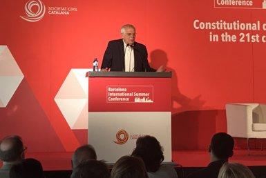 Borrell diu sobre el cas Puigdemont que la relació amb Alemanya és entre jutges, encara que ell té la seva opinió (Europa Press)
