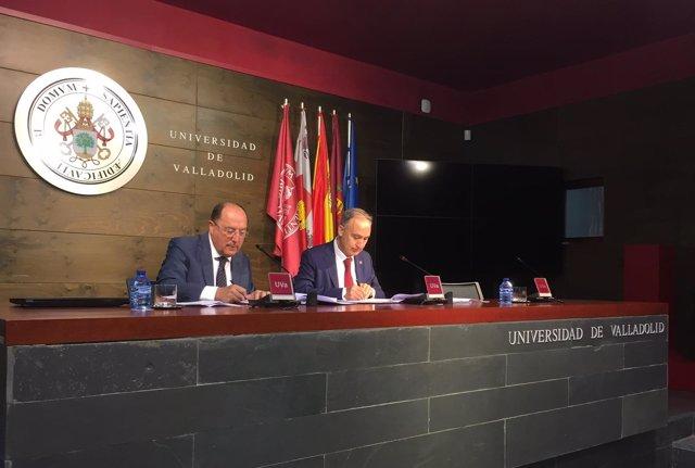 Firma del convenio 16-7-2018