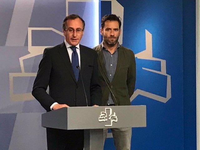 Alfonso Alonso y Borja Sémper