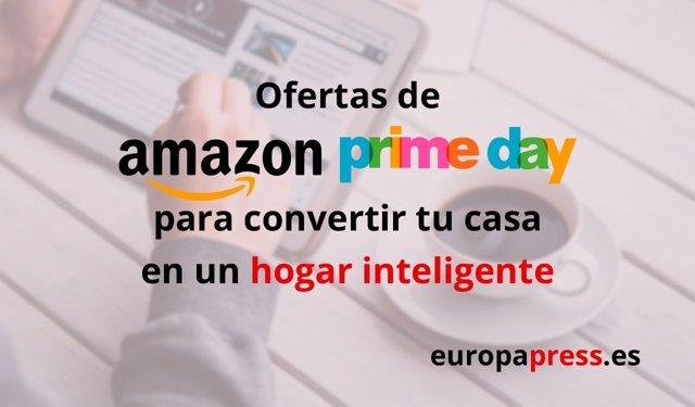 Ofertas de Amazon en Prime Day, hogar inteligente
