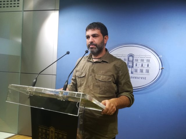 El diputado de MÉS Josep Ferrá
