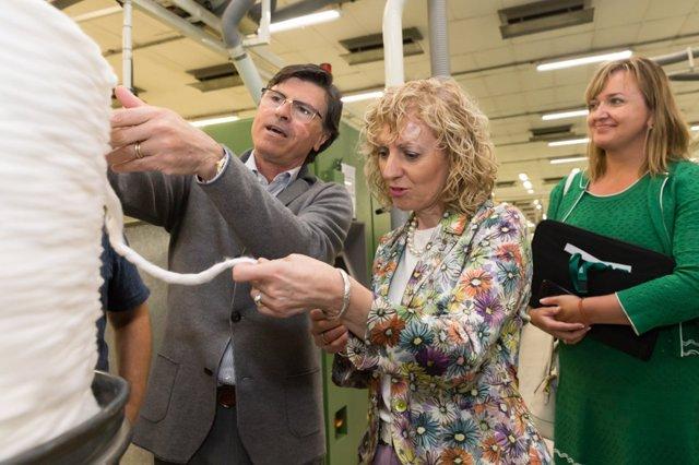 Tezanos en Textil Santanderina