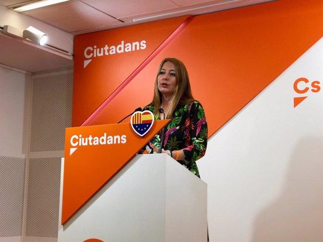 La diputada de Cs Sonia Sierra
