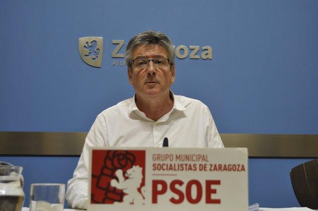 El concejal del PSOE Zaragoza Javier Trívez.