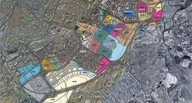 Desarrollos del sureste de Madrid