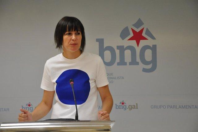 Ana Pontón, este lunes