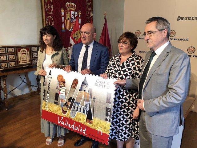 Presentación del sello dedicado a la provincia de Valladolid, 16-7-18